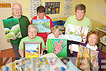 ART ATTACK: Some of the members of art group who meet every Friday morning at the Listowel Family Resource Centre, front l-r: Nellie Henessy, Hazel Culhane, Marie Hegarty. Back l-r: Junior Griffin, Connie O'Driscoll-Murphy, Cliff Gore.