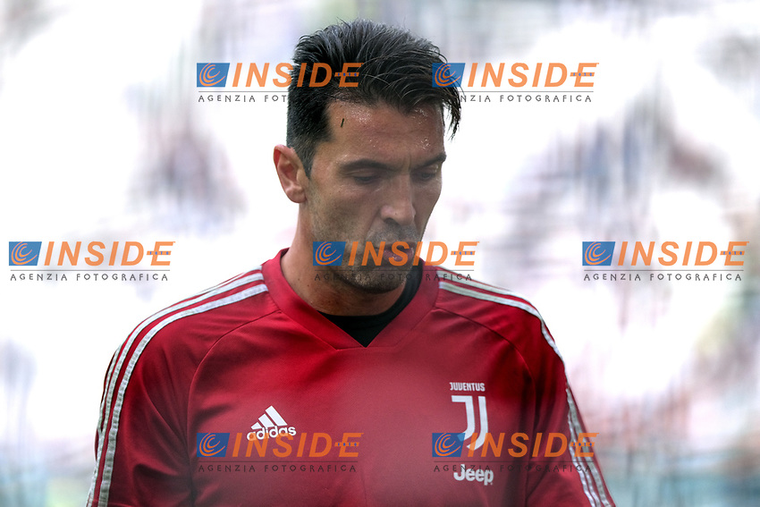 Gianluigi Buffon of Juventus looks on <br /> Torino 28/09/2019 Allianz Stadium <br /> Football Serie A 2019/2020 <br /> Juventus FC - SPAL <br /> Photo OnePlusNine / Insidefoto