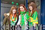 Enjoying the St. Patrick's Day Parade Tralee 2014 Rachel Barry, Michelle Griffin, Alannah Diggin