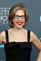 Jackie Hoffman attends the 23rd Annual Critics' Choice Awards at Barker Hangar in Santa Monica, Los Angeles, USA, on 11 January 2018. Photo: Hubert Boesl - NO WIRE SERVICE - Photo: Hubert Boesl/dpa /MediaPunch ***FOR USA ONLY***