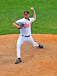 6 March 2009: Baltimore Orioles' pitcher Jamie Walker on the mound during a Spring Training game against the Washington Nationals at Fort Lauderdale Stadium in Fort Lauderdale, Florida. The Orioles defeated the Nationals 6-2 in the Grapefruit League matchup. Mandatory Photo Credit: Ed Wolfstein Photo