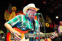 Mack Banks performs at the Ponderosa Stomp in New Orleans on October 3, 2015.