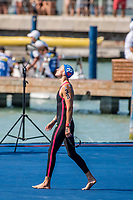 MULLER Aurelie FRA<br /> Women's 5km Final Silver Medal<br /> Open Water Swimming Balatonfured<br /> Day 06 19/07/2017 <br /> XVII FINA World Championships Aquatics<br /> Lake Balaton Budapest Hungary  <br /> Photo @ A.Masini/Deepbluemedia/Insidefoto