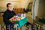 Paddy Kevane Saint Vincent DePaul at the Foodshare depot in Tralee.