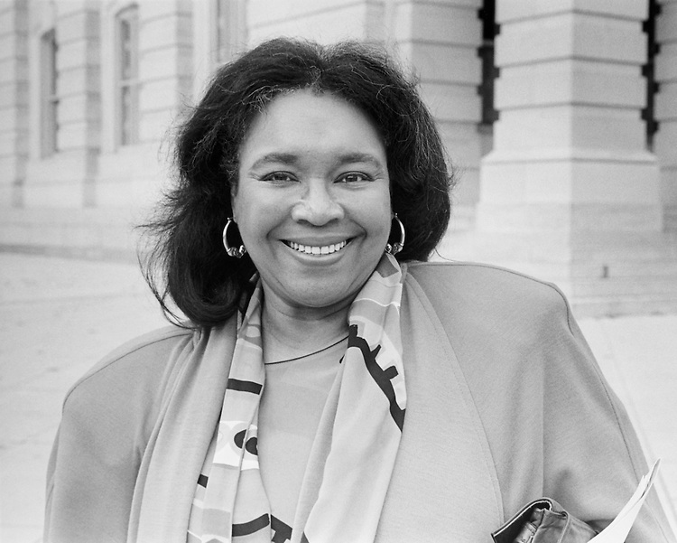 Rep. Barbara-Rose Collins, D-Mich. on November 22, 1993. (Photo by Chris Martin/CQ Roll Call)