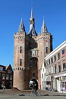 Zwolle. De Sassenpoort. De Sassenpoort is een oude stadspoort.
