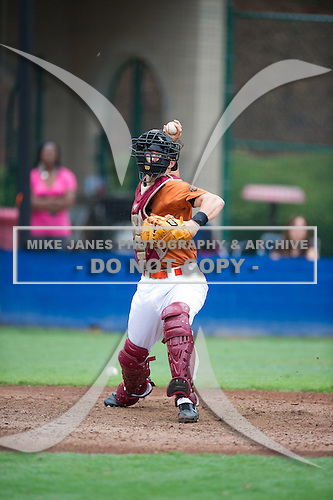 Jae Skoda #20 during the Team One South Showcase presented by Baseball Factory at Chappell Park on July 14, 2012 in Atlanta, Georgia.  (Copyright Mike Janes Photography)