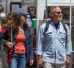 A photograph taken during Art Fest on Saturday June 30, 2018 in downtown Reno.