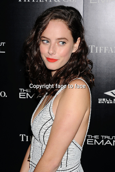 HOLLYWOOD, CA- DECEMBER 04: Actress Kaya Scodelario arrives at the 'The Truth About Emanuel' - Los Angeles Premiere - Arrivals at ArcLight Hollywood on December 4, 2013 in Hollywood, California.<br />