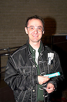April 25 2003, Montreal, Quebec, Canada<br /> <br />  RenÈ Richard Cyr April 25 2003  in Montreal, Canada.<br /> <br /> NO MODEL RELEASE - Editorial related to this event only<br /> <br /> Mandatory Credit: Photo by Pierre Roussel- Images Distribution. (©) Copyright 2003 by Pierre Roussel <br /> <br /> NOTE : <br />  Nikon D-1 jpeg opened with Qimage icc profile, saved in Adobe 1998 RGB<br /> .Uncompressed  Original  size  file availble on request.