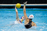 INDIANAPOLIS, IN - MAY 14: Alys Williams (2) of UCLA takes a shot during the Division I Women's Water Polo Championship against Stanford University held at the IU Natatorium-IUPUI Campus on May 14, 2017 in Indianapolis, Indiana. (Photo by Joe Robbins/NCAA Photos/NCAA Photos via Getty Images)