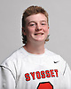 Mac O'Keefe of Syosset poses for a portrait during the Newsday varsity boys lacrosse season preview photo shoot at company headquarters on Thursday, Mar. 24, 2016.