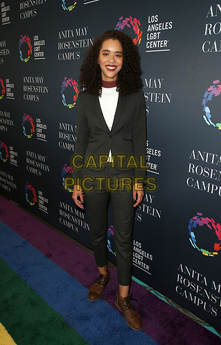 LOS ANGELES, CA -APRIL 7: Jasmin Savoy Brown, at Grand Opening Of The Los Angeles LGBT Center's Anita May Rosenstein Campus at Anita May Rosenstein Campus in Los Angeles, California on April 7, 2019.<br /> CAP/MPIFS<br /> ©MPIFS/Capital Pictures