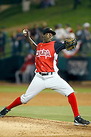 Luis Lebron ---  At the annual California League-Carolina League all-star game at the Diamond in Lake Elsinore, CA - 06/23/2009. The game was won by the California League, 2-1, on a walk-off homerun by Lancaster's Jon Gaston..Photo by:  Bill Mitchell/Four Seam Images
