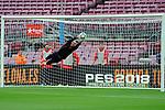 League Santander 2017/2018 - Game: 7.<br /> FC Barcelona vs UD Las Palmas: 3-0.<br /> Jasper Cillessen.