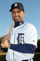 Feb 21, 2009; Lakeland, FL, USA; The Detroit Tigers infielder Placido Polanco (14) during photoday at Tigertown. Mandatory Credit: Tomasso De Rosa/ Four Seam Images