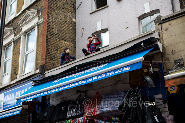 &quot;Save Brixton Arches&quot;.<br />