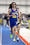 BROOKINGS, SD - FEBRUARY 25:  Joel Reichow from South Dakota State University leads the pack during the men's 5,000 meter run at the 2017 Summit League Indoor Track and Field Championship Saturday afternoon in Brookings, SD. (Photo by Dave Eggen/Inertia)