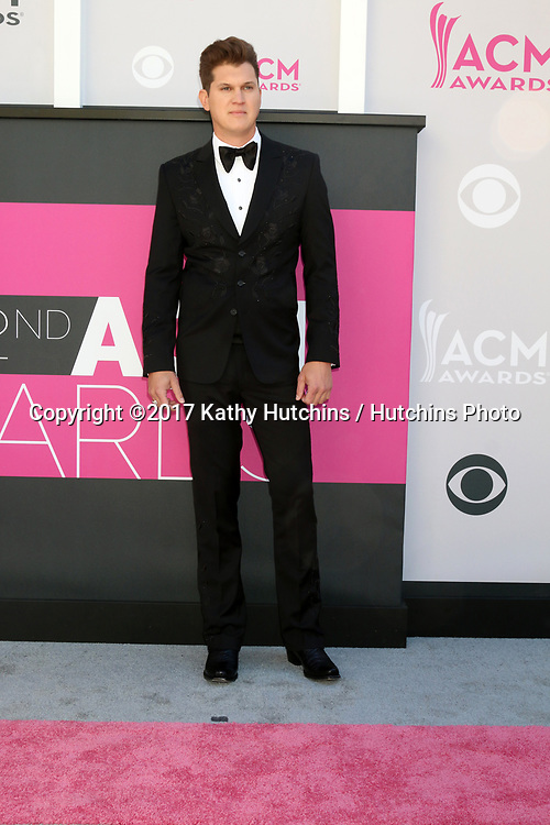 LAS VEGAS - APR 2:  Jon PardI at the Academy of Country Music Awards 2017 at T-Mobile Arena on April 2, 2017 in Las Vegas, NV