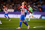Atletico de Madrid's player Antoine Griezmann and Unai Bustinza during a match of La Liga at Santiago Bernabeu Stadium in Madrid. November 06, Spain. 2016. (ALTERPHOTOS/BorjaB.Hojas)