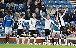 Murray Davidson celebrates his goal