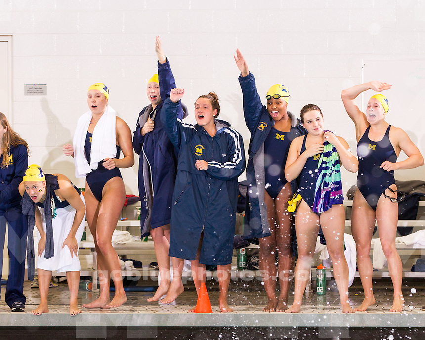 The University of Michigan women's swimming and diving team beat Ohio State, 163-137, at Canham Natatorium in Ann Arbor, Mich., on January 18, 2013.