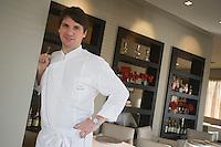 "Europe/France/Haute-Normandie/76/Seine-Maritime/Rouen: Gilles Tournadre dans son Restaurant ""Gill"""
