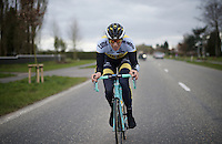 Sep Vanmarcke (BEL/LottoNL-Jumbo) at the Ronde van Vlaanderen 2016 recon