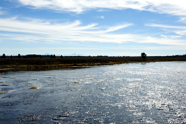"The Henry's Fork of the Snake River as it flows past the area known as ""Last Chance"", near Island Park"