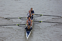 Crew: 176  Warwick  E 4+<br /> <br /> Veteran Fours Head 2018<br /> <br /> To purchase this photo, or to see pricing information for Prints and Downloads, click the blue 'Add to Cart' button at the top-right of the page.