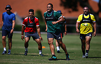 DURBAN, SOUTH AFRICA -Monday February 18th: Ofa Tu'ungafasi of the Blues during the Blues Training at Northwood School Durban North, on February 18th, 2019 in Durban, South Africa. (Photo by Steve Haag / stevehaagsports.com)