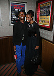 South African superstar, Simphiwe Dana and Radio Host Akena <br />  at the Red Rooster's Ginny's Supper Club in Harlem, NY