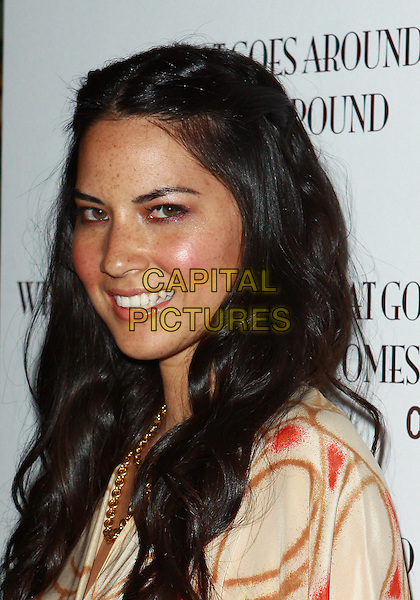 OLIVIA MUNN .WGACA 1 Year Anniversary Party  held at Space15Twenty, Los Angeles, California, USA, 18th March 2010..one arrivals portrait headshot profile smiling blusher make-up .CAP/ADM/TC.©T. Conrad/AdMedia/Capital Pictures.