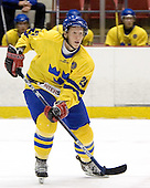 Erik Andersson (HV 71)  The US Blue team lost to Sweden 3-2 in a shootout as part of the 2005 Summer Hockey Challenge at the National Junior (U-20) Evaluation Camp in the 1980 rink at Lake Placid, NY on Saturday, August 13, 2005.