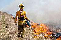 63863-02810 Prescribed Burn by IDNR Prairie Ridge State Natural Area Marion Co. IL