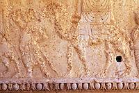 SIRIA - sito di Palmira(Tadmor)  santuario di Allat decorazioni con cammello