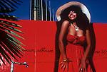 "Chaka Khan billboard on the Sunset Strip circa 1978 for her album titled ""Chaka"""