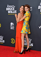 LOS ANGELES, CA - July 14, 2018: Scout Willis & Tallulah Willis at the Comedy Central Roast of Bruce Willis at the Hollywood Palladium<br /> Picture: Paul Smith/Featureflash.com