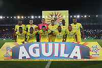 BOGOTA -COLOMBIA, 7-04-2017.Team of Atletico Nacional.Action game between  Millonarios  and Atletico Nacional during match for the date 12 of the Aguila League I 2017 played at Nemesio Camacho El Campin stadium . Photo:VizzorImage / Felipe Caicedo  / Staff