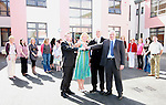 Le Cheile Handing Over of Keys of New School