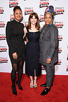 Andrea Simon, Ophelia Lovibond and Marai Larasi<br /> arriving for the Empire Awards 2018 at the Roundhouse, Camden, London<br /> <br /> ©Ash Knotek  D3389  18/03/2018