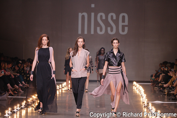 Nisse Spring-Summer 2014 collection revealing frank and refined lines.