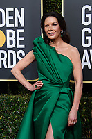 Catherine Zeta-Jones attends the 76th Annual Golden Globe Awards at the Beverly Hilton in Beverly Hills, CA on Sunday, January 6, 2019.<br /> *Editorial Use Only*<br /> CAP/PLF/HFPA<br /> Image supplied by Capital Pictures
