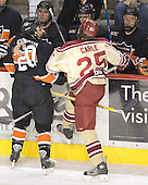 Brandan Kushniruk, Matt Carle - Princeton ?, Brett Wilson, Grant Goeckner-Zoeller - The Princeton University Tigers defeated the University of Denver Pioneers 4-1 in their first game of the Denver Cup on Friday, December 30, 2005 at Magness Arena in Denver, CO.