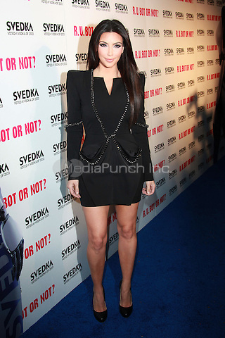 Kim Kardashian arrives to the Svedka Vodka's 'R.U. Bot Or Not?' Battle Of The Bots party held at Wonderland in Los Angeles, California. May 22, 2010.Credit: Dennis Van Tine/MediaPunch