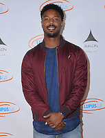 21 September 2016 - Hollywood, California. Michael B. Jordan. 8th Annual Get Lucky for Lupus LA Celebrity Poker Tournament  held at Avalon Hollywood. Photo Credit: Birdie Thompson/AdMedia