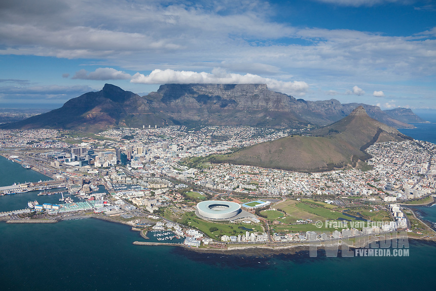 Cape Town Aerial View.