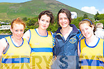 The Sive RC crew that won the u18 ladies 4 oars at the Caherciveen Regatta on Sunday l-r: Ann Marie O'Sullivan, Catriona Morris, Sharon O'Sullivan and Paula O'Sullivan    Copyright Kerry's Eye 2008