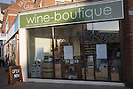 Wine boutique specialist shop, Felixstowe
