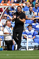 Norwich City manager Daniel Farke during Birmingham City vs Norwich City, Sky Bet EFL Championship Football at St Andrews on 4th August 2018